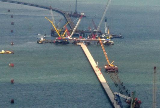 Работа вахтой Крым должности на Керченский мост