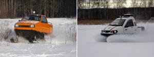 Настоящая гроза Арктики: Снегоход «Беркут ТТМ-1901»