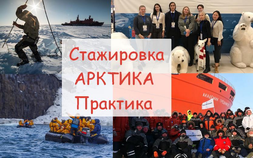 Работа стажировка Арктика практика контакты компаний